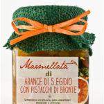 marmellata di arance con pistacchi di Bronte