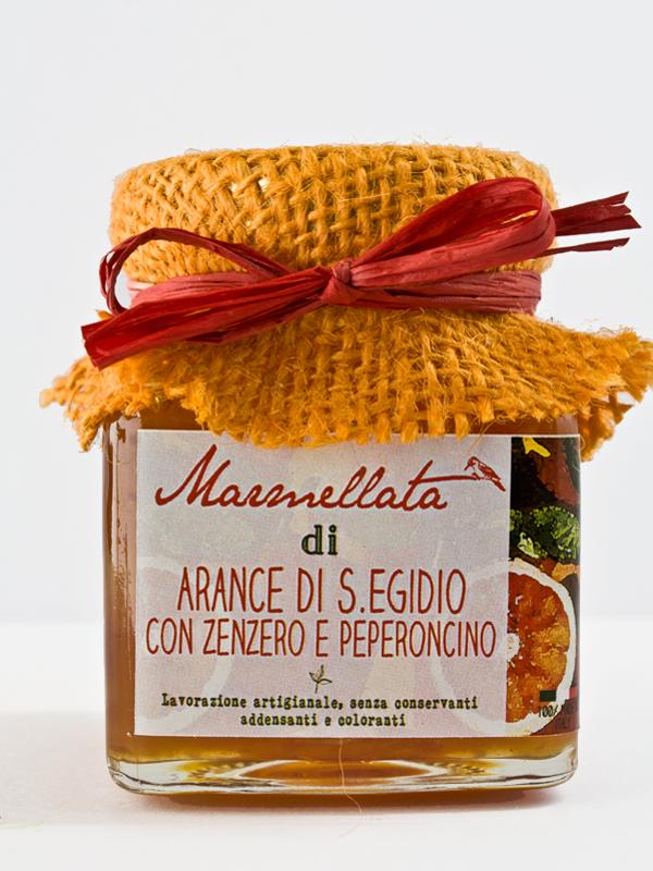 marmellata di arance con zenzero e peperoncino