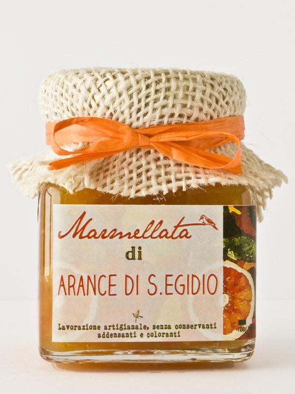 marmellata artigianale di arance di S. Egidio Il Poggio del Picchio