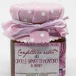 Confettura artigianale extra di cipolle ramate di Montoro al brandy - Il Poggio del Picchio