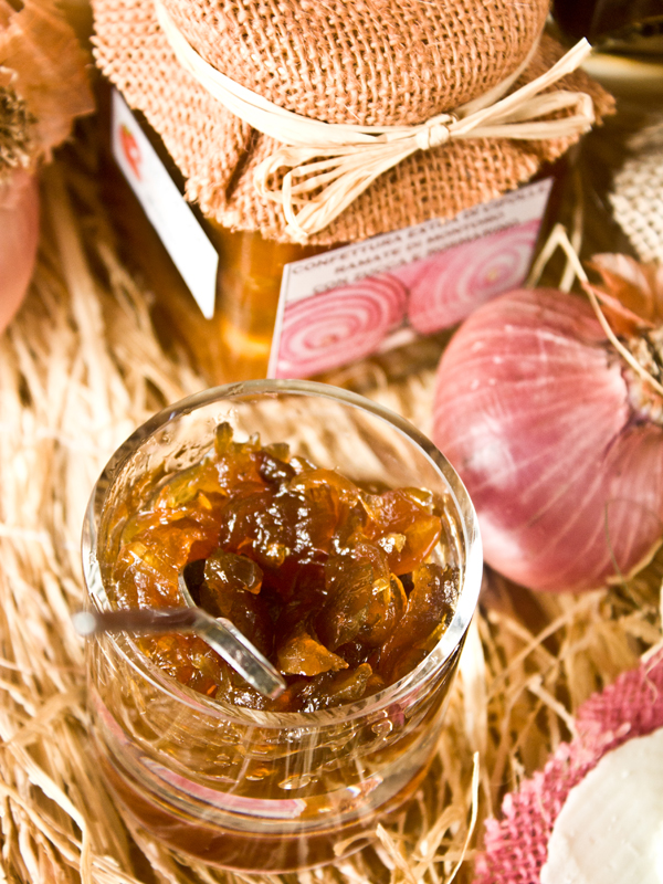 confettura extra di cipolle ramate di montoro al brandy poggio del picchio