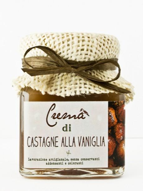 crema di castagne alla vaniglia – Il Poggio del Picchio