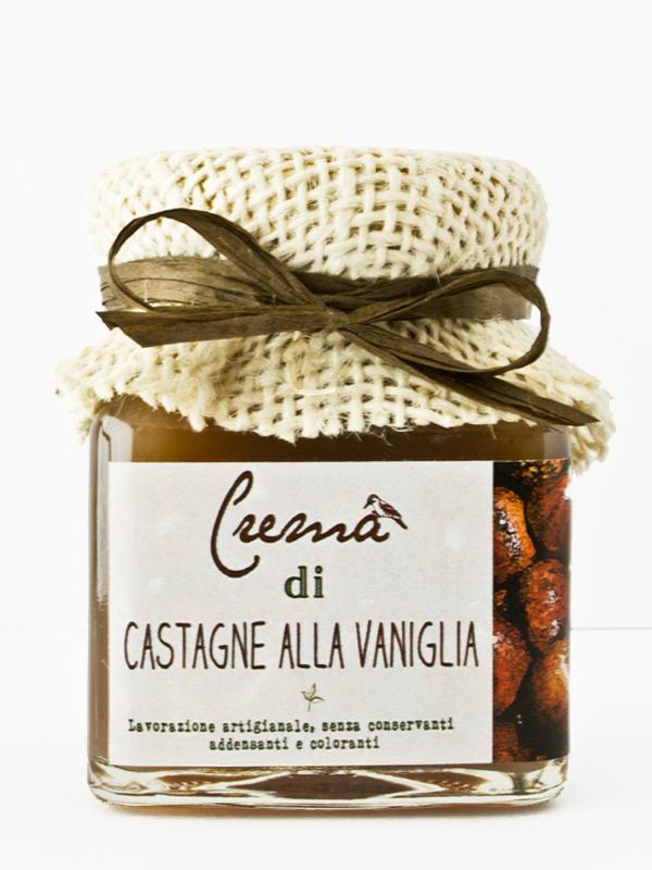 crema di castagne artigianale alla vaniglia - Il Poggio del Picchio