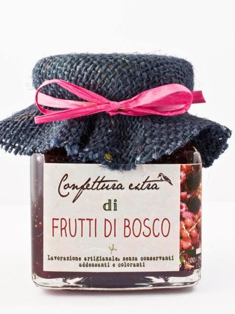 Confettura extra di frutti di bosco - Il Poggio del Picchio