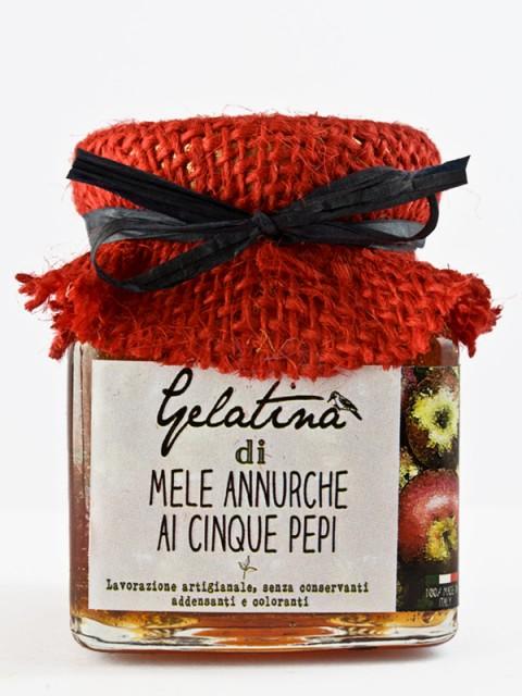 gelatina mele annurche ai cinque pepi - Il poggio del picchio