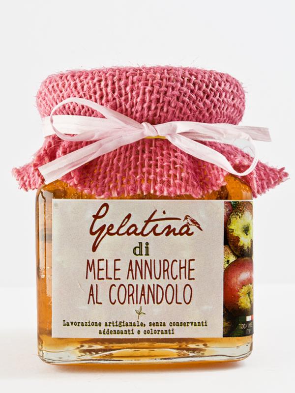 gelatina mele annurche al coriandolo - Il Poggio del Picchio