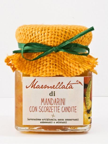 marmellata artigianale di mandarini con scorzette candite Il Poggio del Picchio