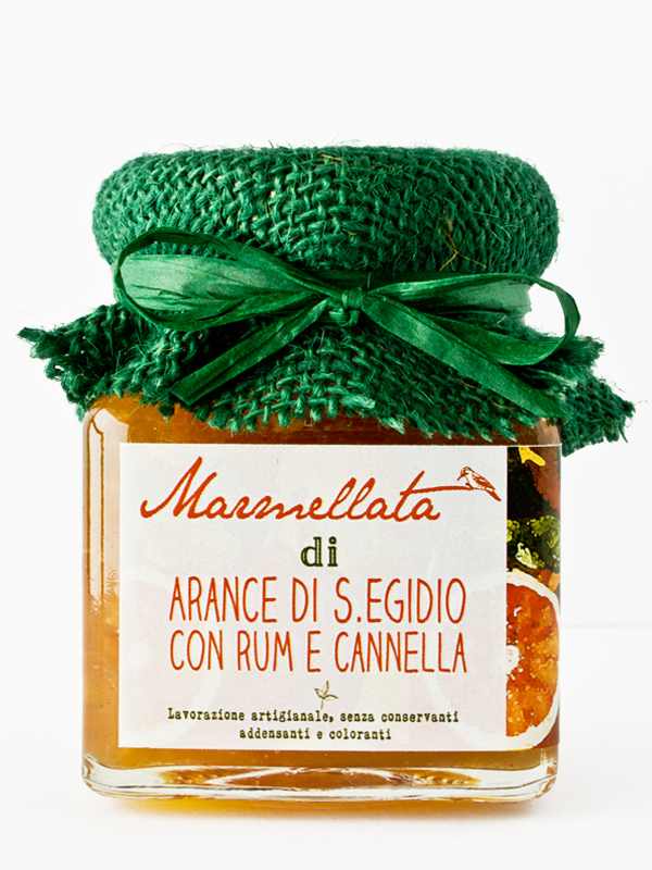 marmellata di arance con rum e cannella - Il Poggio del Picchio