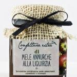 confettura extra di mele annurche alla liquirizia - Il poggio del picchio