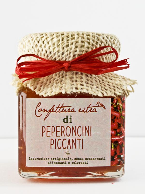 confettura extra di peperoncini piccanti 110g