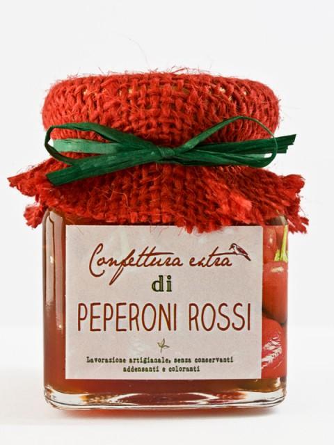 confettura extra di peperoni rossi