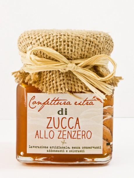 confettura extra artigianale di zucca allo zenzero Il Poggio del Picchio