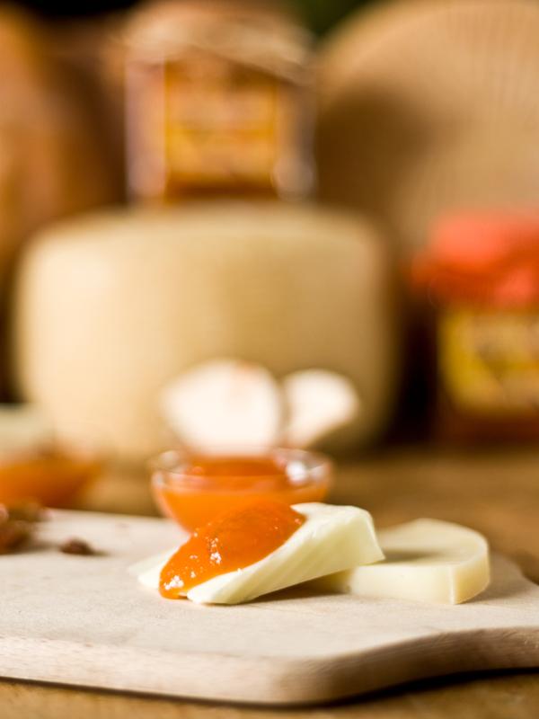 confettura extra zucca allo zenzero con formaggi