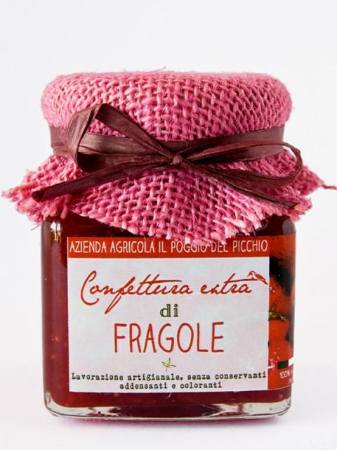 marmellata di fragole - Il Poggio del Picchio