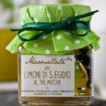 marmellata artigianale di limoni al the matcha - Il Poggio del Picchio