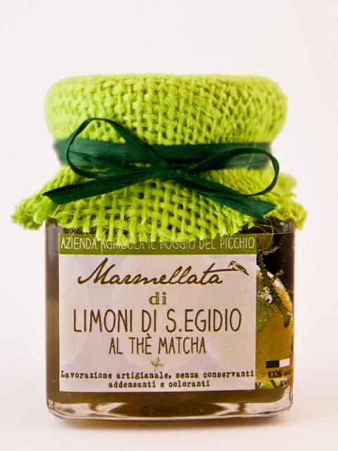 marmellata di limoni al the matcha - Il Poggio del Picchio