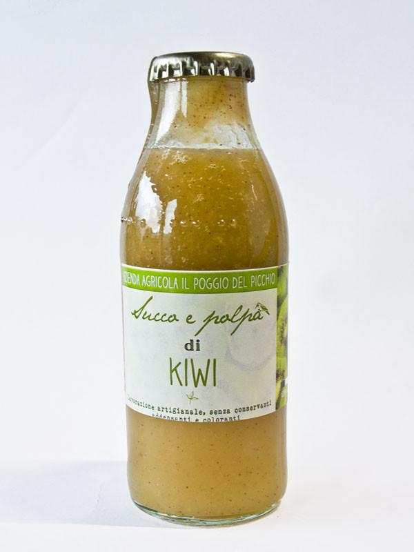 succo e polpa di kiwi_Il Poggio del Picchio