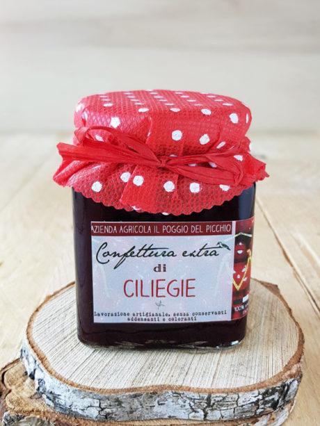 confettura-artigianale-extra-di-ciliegie-a-Il-Poggio-del-Picchio