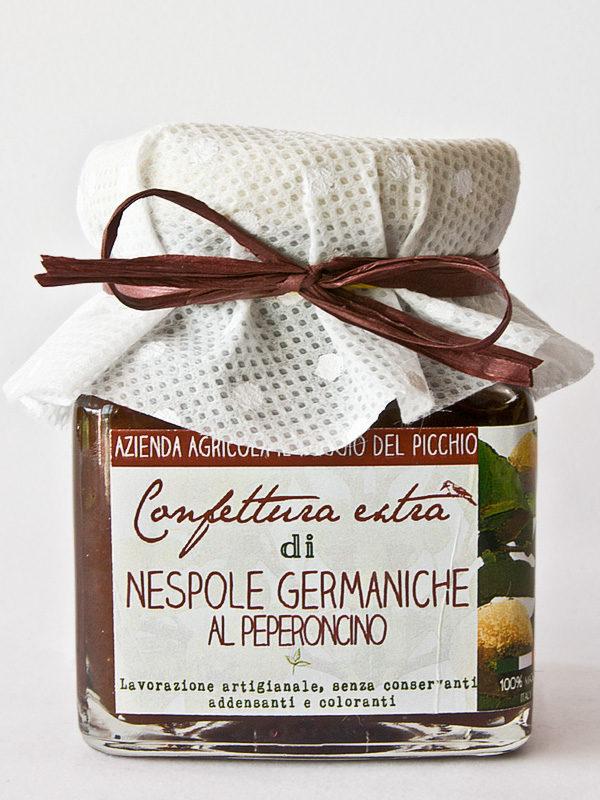 nespole germaniche al peperoncino- Il Poggio del Picchio