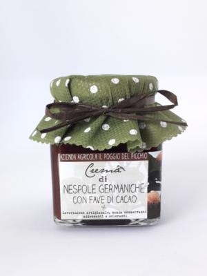 Crema di nespole germaniche con fave di cacao Il Poggio del Picchio