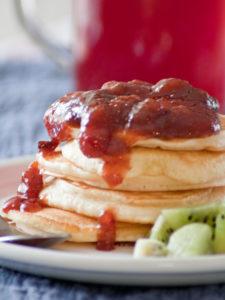 pancakes ai frutti di bosco