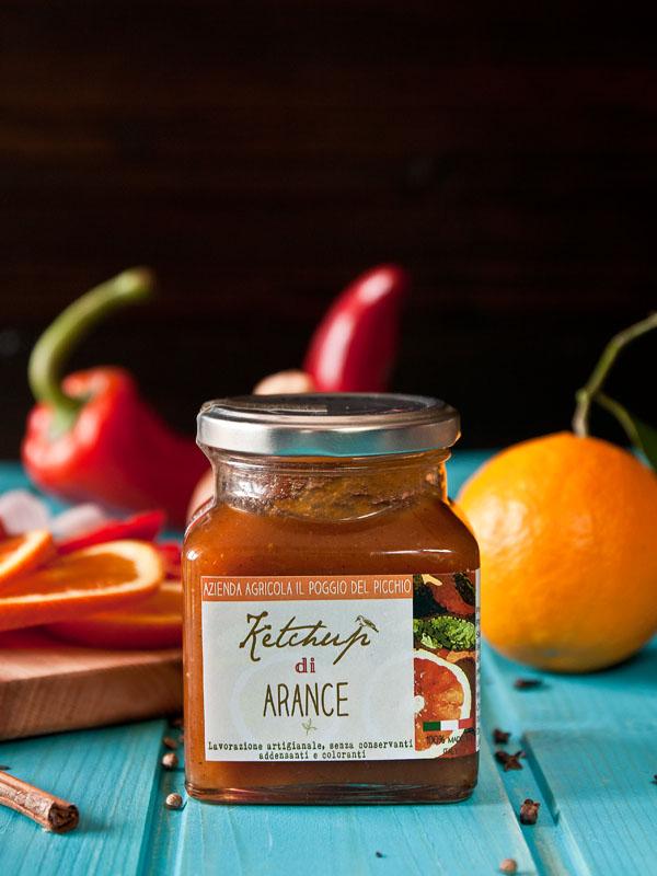 ketchup di arance sfondo - Il Poggio del Picchio