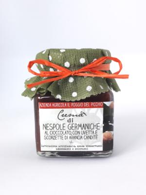 crema-di-nespole-germaniche-al-cioccolato Il Poggio del Picchio