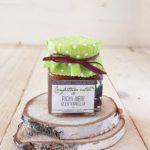 confettura artigianale extra di fichi neri alla vaniglia | Il Poggio del Picchio
