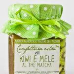 confettura artigianale extra di kiwi al the matcha