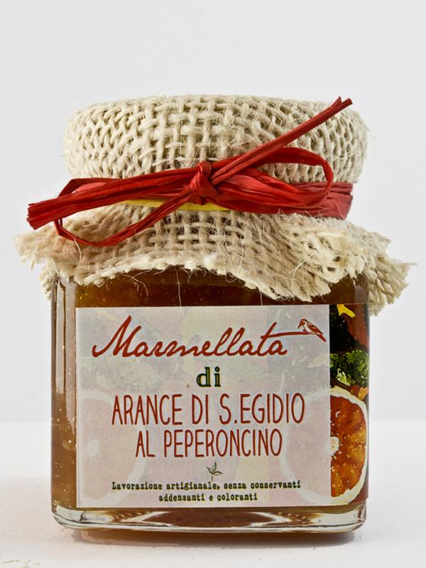 marmellata di arance al peperoncino