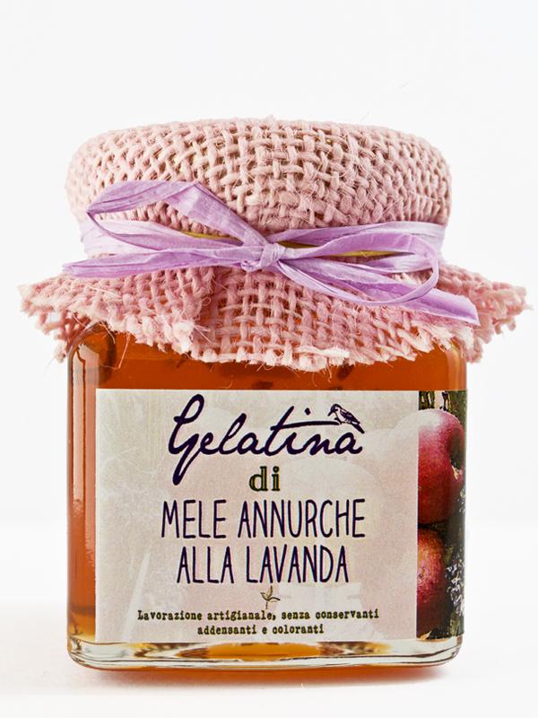 gelatina mele annurche alla lavanda - Il Poggio del Picchio