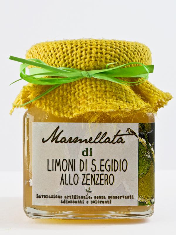 marmellata di limoni allo zenzero