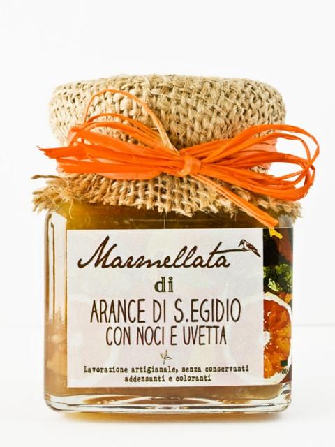 marmellata di arance con noci ed uvetta - Il Poggio del Picchio