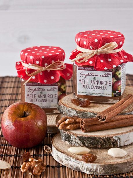 confettura extra di mele annurche alla cannella- Il Poggio del Picchio