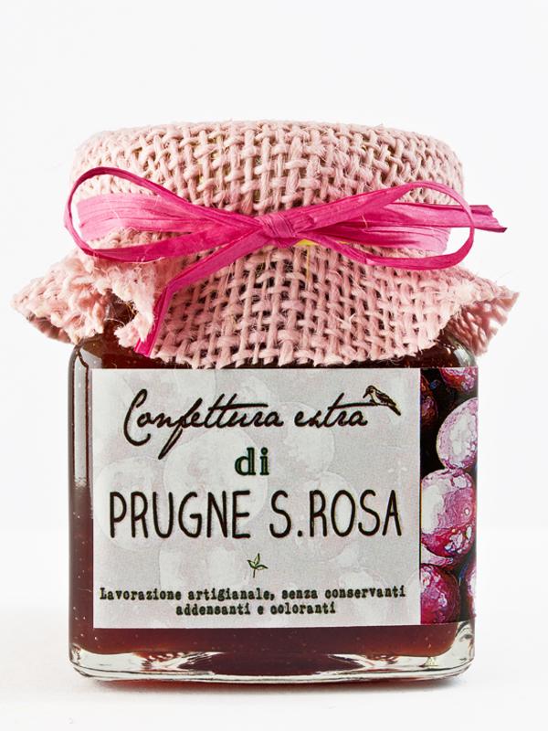 confettura extra di prugne santa rosa - Il Poggio del Picchio