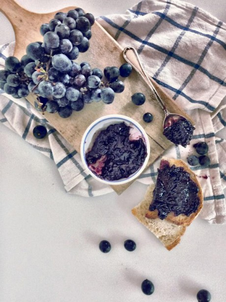 confettura extra di uva fragola – Il Poggio del Picchio