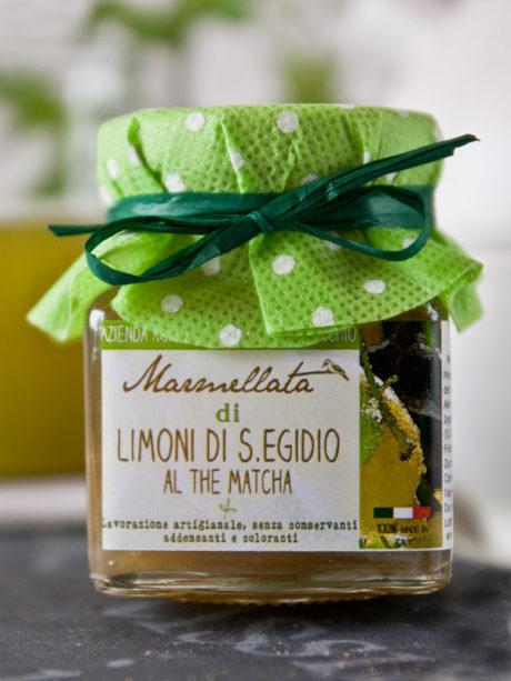 marmellata artigianale di limoni al the matcha – Il Poggio del Picchio