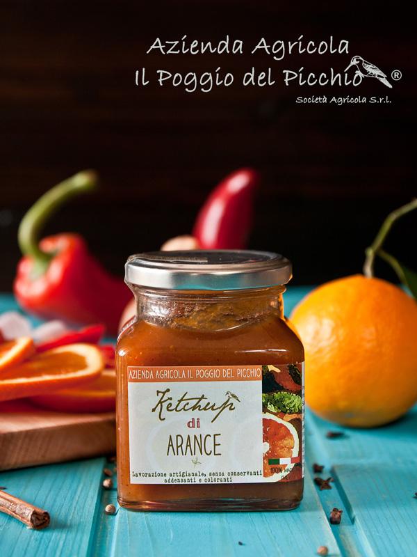ketchup di arance - Il Poggio del Picchio