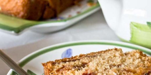 plumcake alle fragole - Il Poggio del Picchio ricette