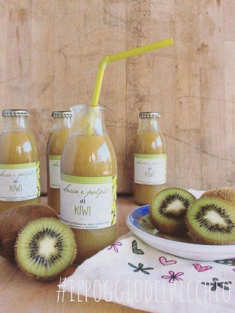 succo e polpa artigianale di Kiwi Il Poggio del Picchio