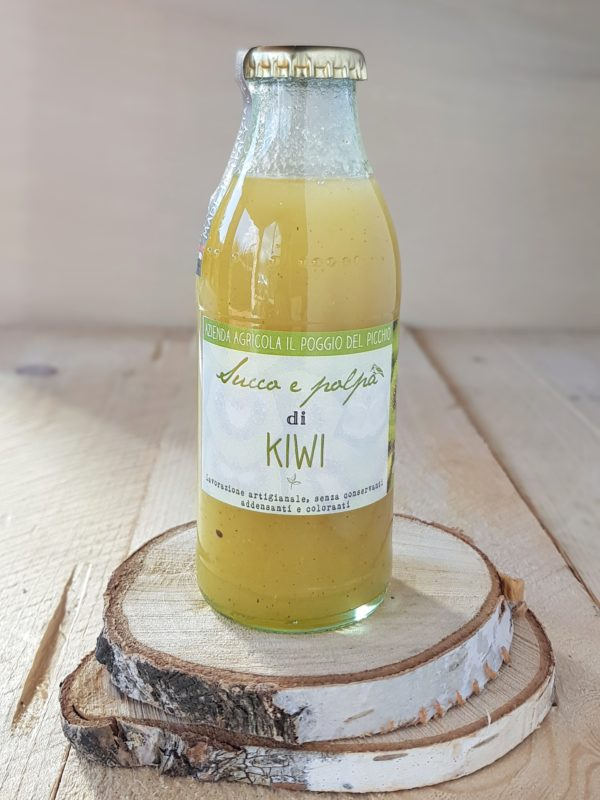 succo e polpa artigianale di kiwi | Il Poggio del Picchio