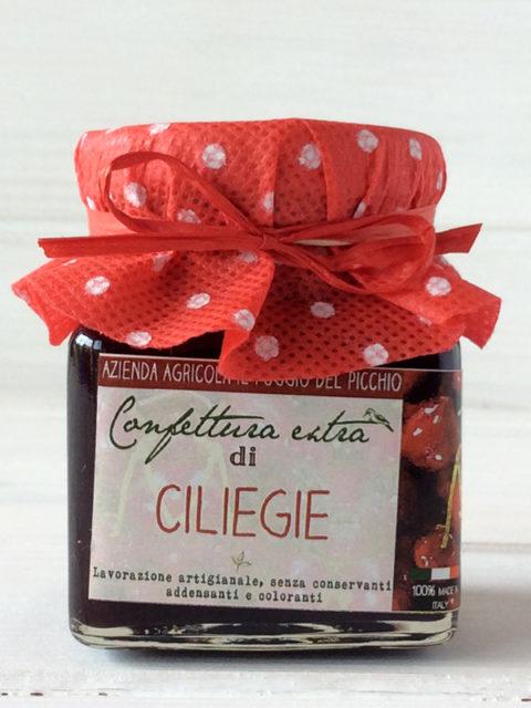 marmellata di ciliegie - Il Poggio del Picchio