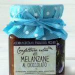 confettura extra di melanzane al cioccolato - Il Poggio del Picchio
