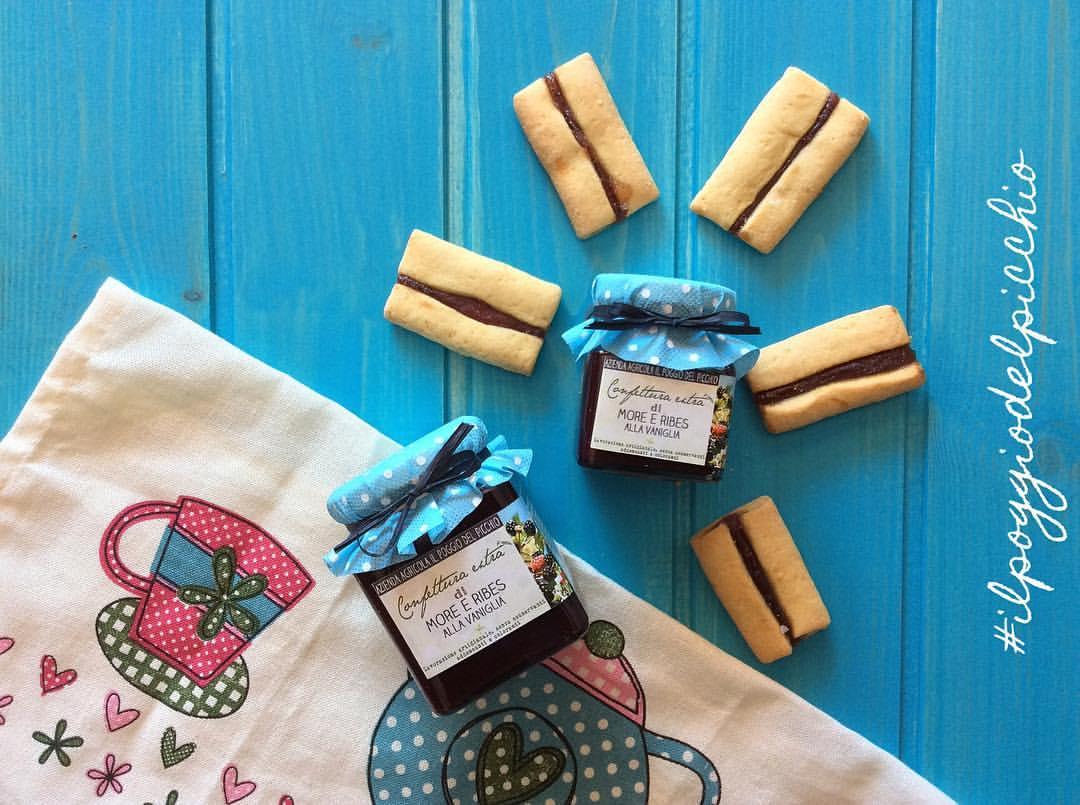 more e ribes alla vaniglia - Il Poggio del Picchio