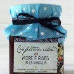 confettura artigianale extra di more e ribes alla vaniglia - Il Poggio del Picchio