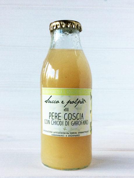 succo e polpa pere coscia con chiodi di garofano – Il Poggio del Picchio