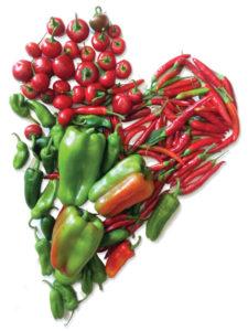 Cuore di peperoni - Il Poggio del Picchio
