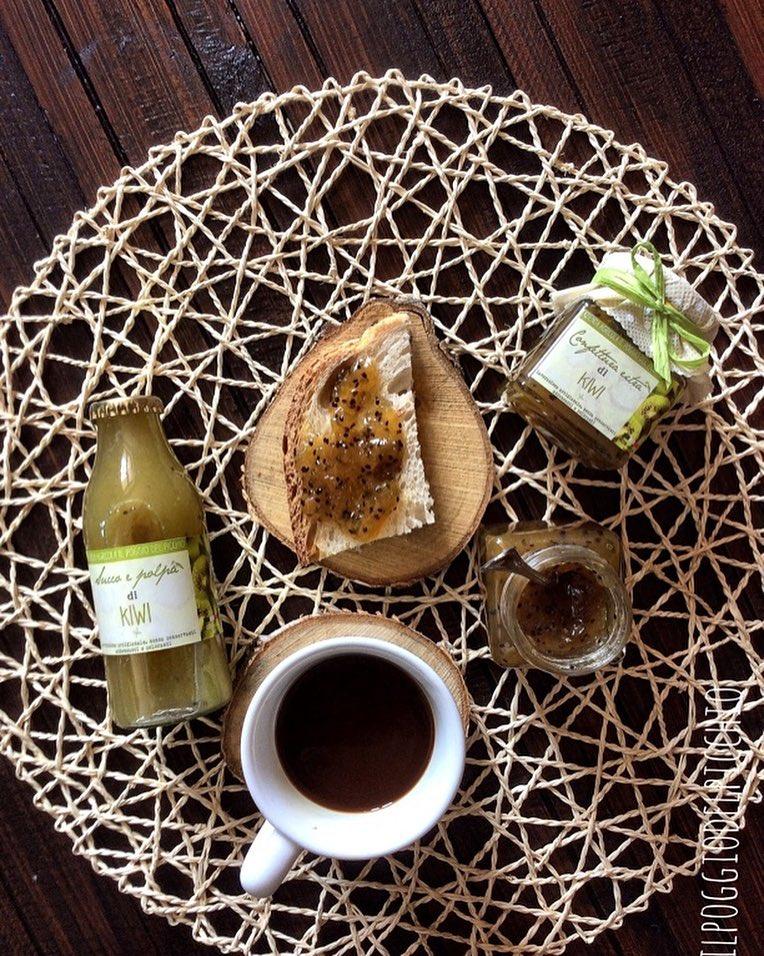 confettura e succo di Kiwi- Il Poggio del Picchio