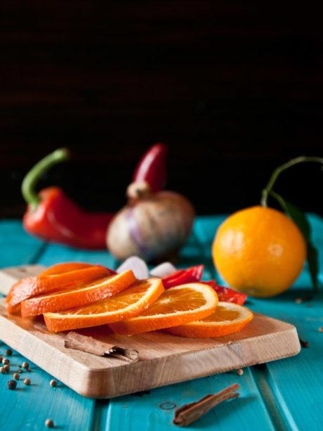 ingredienti ketchup di arance | Il Poggio del Picchio