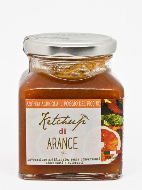 ketchup artigianale di arance – Il Poggio del Picchio